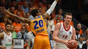 Bayern-Basketballer stoßen Tür ins Finale weit auf