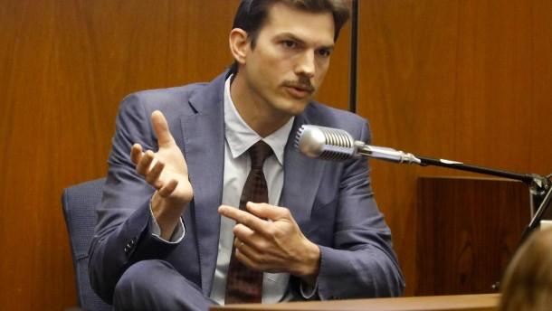 Ashton Kutcher verpasste den Mörder knapp