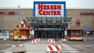 In die Jahre gekommen: Das Hessen-Center und das umliegende Areal sollen zukunftssicher gemacht werden.