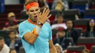 Kranker Nadal verliert in Schanghai