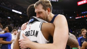"""Thank you, Dirk"""