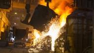 Klimapolitik nervt Europas Stahlkocher