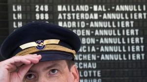 Pilotengewerkschaft droht mit neuen Streiks bei Lufthansa