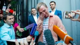 Russischer Journalist Golunow wieder frei