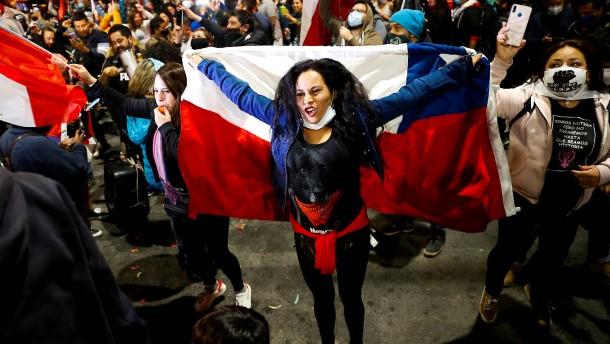 Chilenen entscheiden sich für Reform ihrer Verfassung