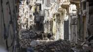 Der Bürgerkrieg in Benghasi dauert an (Archivbild April 2015)