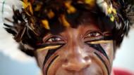 Pataxo-Indianer hoffen auf Fußball-Tourismus