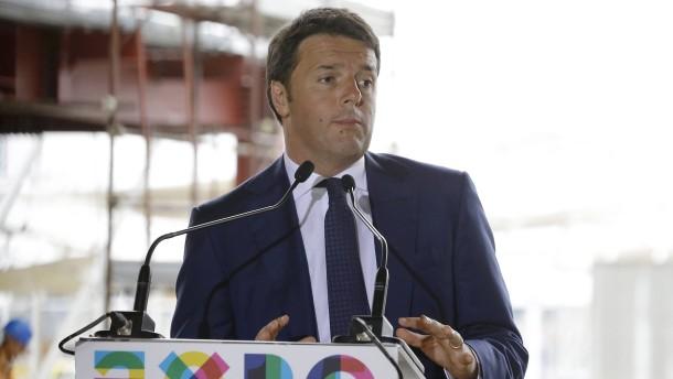 Renzi vor einem schwierigen Herbst