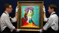Abkühlung am Kunstmarkt