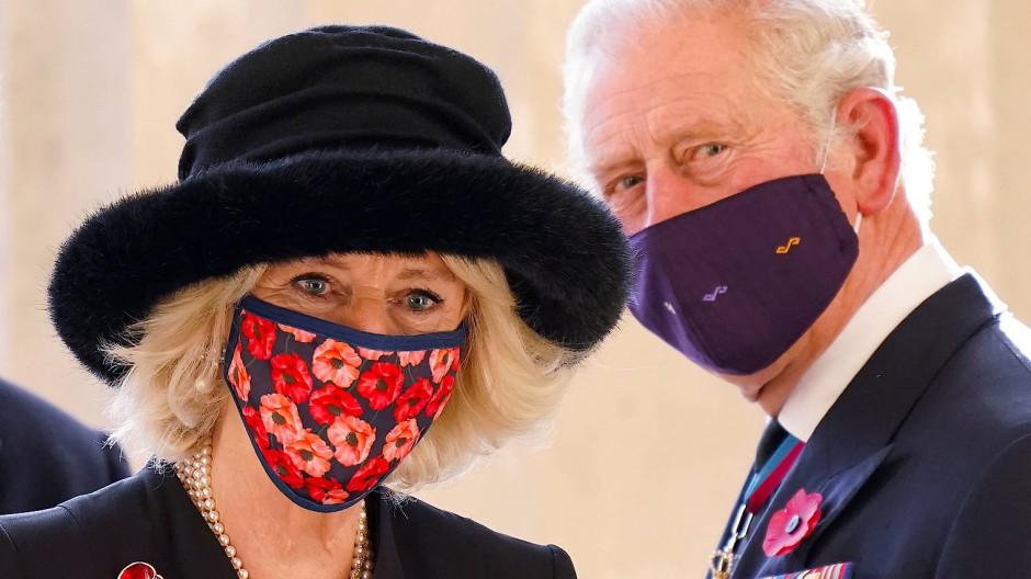 Trotzen dem Schicksal: Charles und Camilla in Berlin