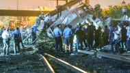 Tote und Verletzte bei Zugunglück nahe Philadelphia