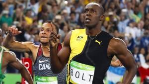 Polizisten müssen nicht mehr schneller als Usain Bolt sein