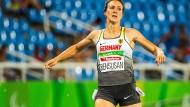 Die Sprinterin Irmgard Bensusan rannte mit Paralympics-Rekord ins Finale über 200 Meter.