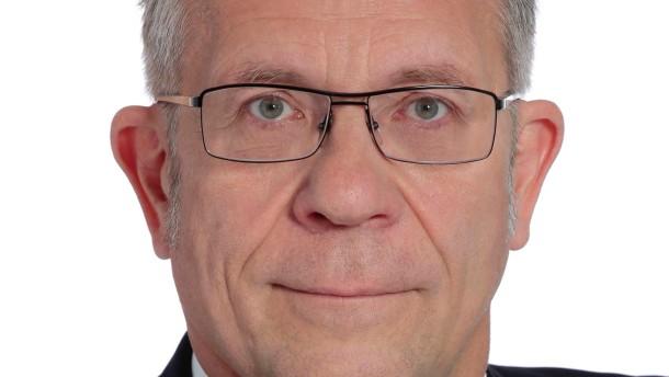 Axel Nawrath im Gespräch für den Chefposten der L-Bank