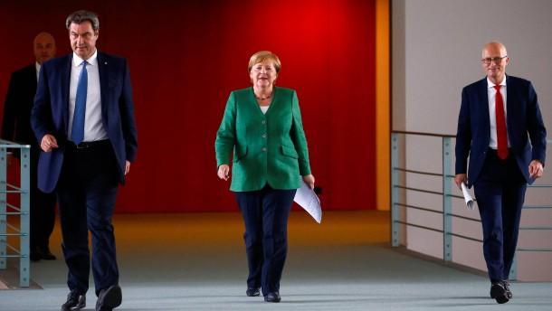 Merkel und die Corona-Routine