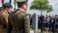 Gedenken in Mesen: Hundert Jahre nach der Schlacht sind auch William, Herzog von Cambridge, und die belgische Prinzessin Astrid gekommen.