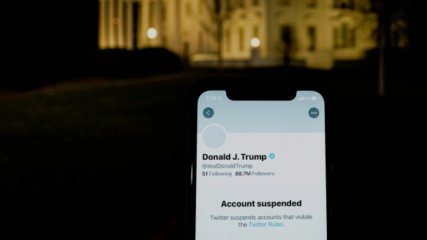 Twitter sperrt Donald Trumps Konto