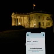 Von Twitter gesperrt: Donald Trump