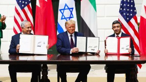 """""""Es wird Frieden im Nahen Osten geben"""""""