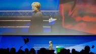 Bundeskanzlerin Angela Merkel beim Deutschlandtag der Jungen Union