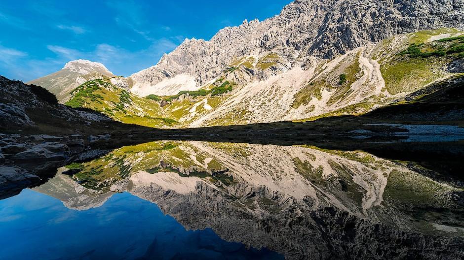 Deutsche Alpen: Auch Urlaub in den eigenen Staatsgrenzen kann erholsam sein.