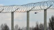 Dicht: die ungarisch-serbische Grenze