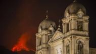 Mehrere Ausbrüche am Ätna auf Sizilien