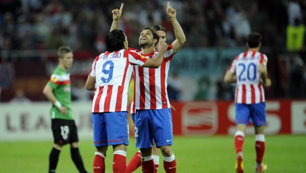 Falcao und Diego schießen Atletico zum Titel