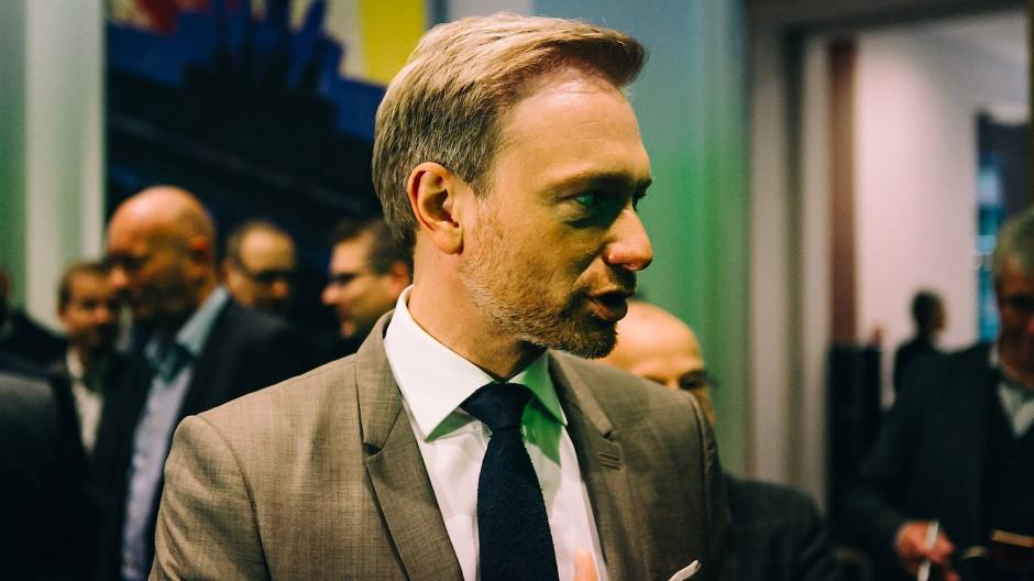 Selbstbewusst: FDP-Chef Christian Lindner