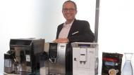 Mit Kaffeeautomaten voll im Trend: Stephan Patrick Tahy, Chef der De'Longhi Deutschland GmbH
