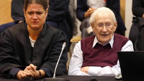 Vier Jahre Haft für Auschwitz-Buchhalter Gröning