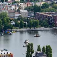 Die Rummelsburger Bucht in Berlin