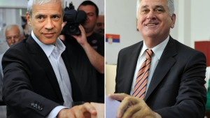 Tadić und Nikolić vor Stichwahl