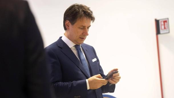 Sozialdemokraten akzeptieren Conte als Ministerpräsidenten