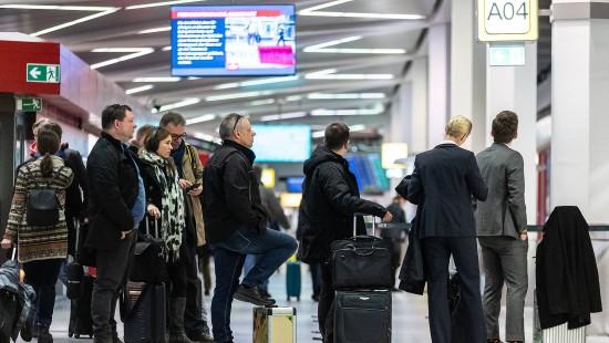 Flugausfälle und Verspätungen an Berliner Flughäfen