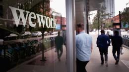 Softbank für Verschiebung des WeWork-Börsengangs