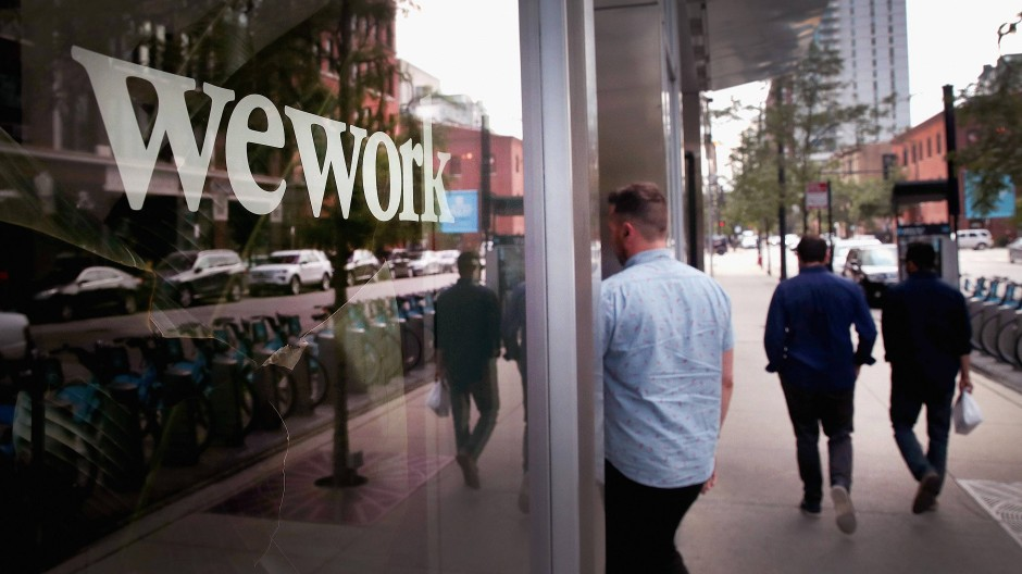 Der amerikanische Bürovermittler Wework (hier ein Foto aus Chicago) expandiert schnell. Doch in gleichem Maße wie der Umsatz steigen auch die Verluste.