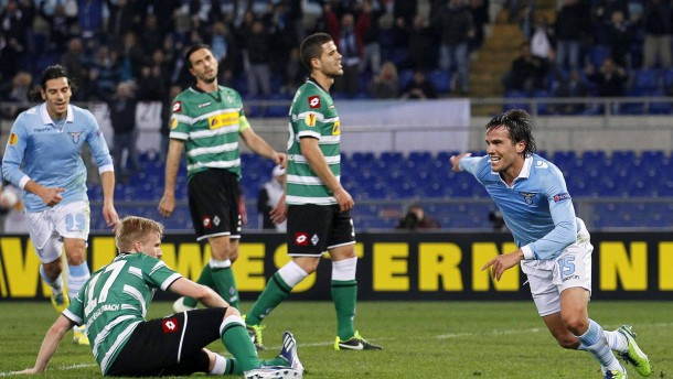 SS Lazio vs Borussia Moenchengladbach