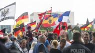 Merkel-muss-weg-Demo verliert an Zulauf