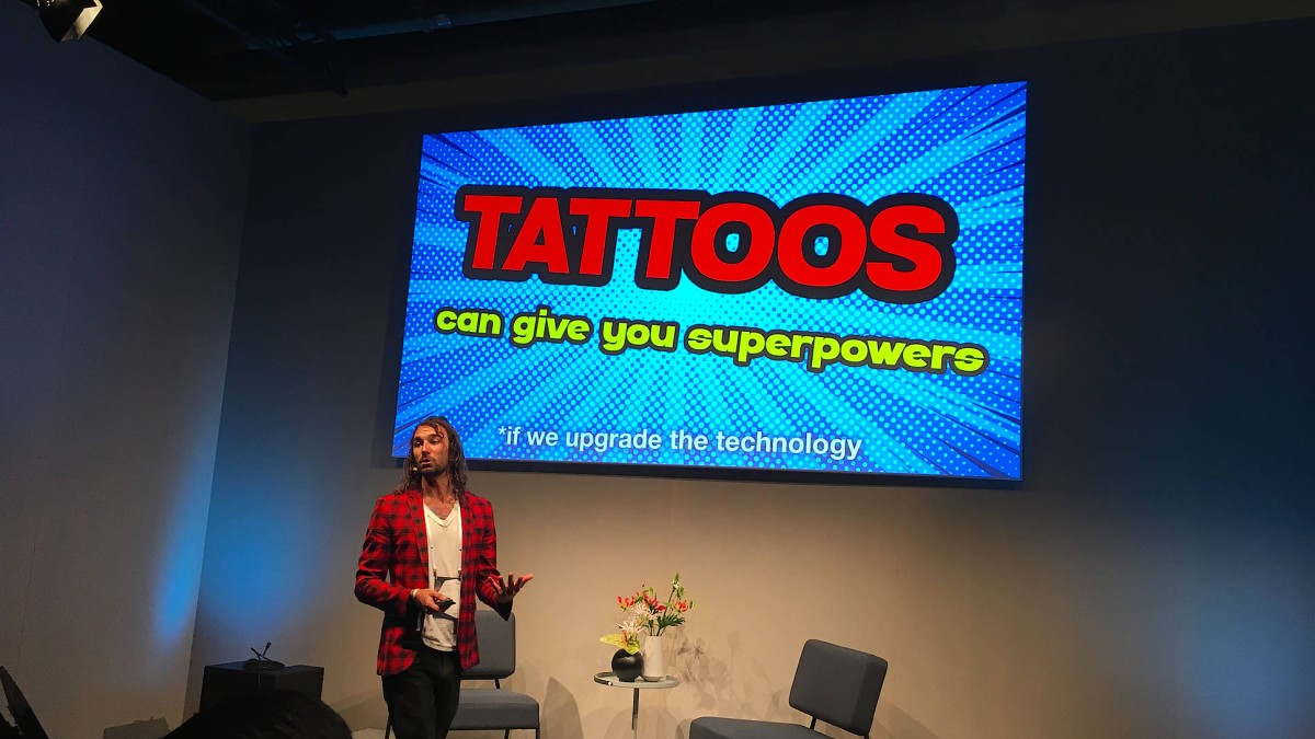 Intelligente Tattoos mit Superkräften