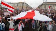 Lukaschenko-Gegner in Minsk: Im Land der Verschwörer