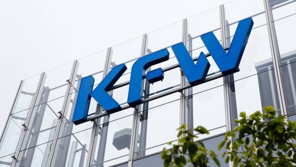 Der KfW wird Deutschland zu klein