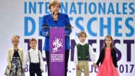 """Merkel bei Turnfest: """"Lassen Sie sich anstecken"""""""