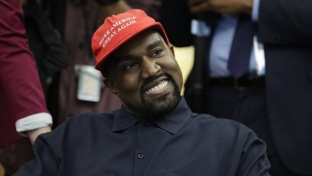 Ist Kanye West doch kein Trump-Fan?