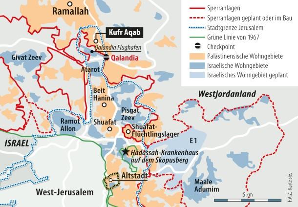 Nahost Karte.Bilderstrecke Zu Israel Will Palästinensische Hochhäuser Abreißen