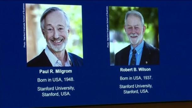Wirtschaftsnobelpreis geht an amerikanische Forscher