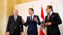 Seehofer und Kurz wollen Mittelmeer-Route schließen