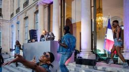 DJs im Élysée-Palast