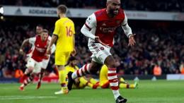 Lacazette rettet Arsenal im Derby gegen Crystal Palace