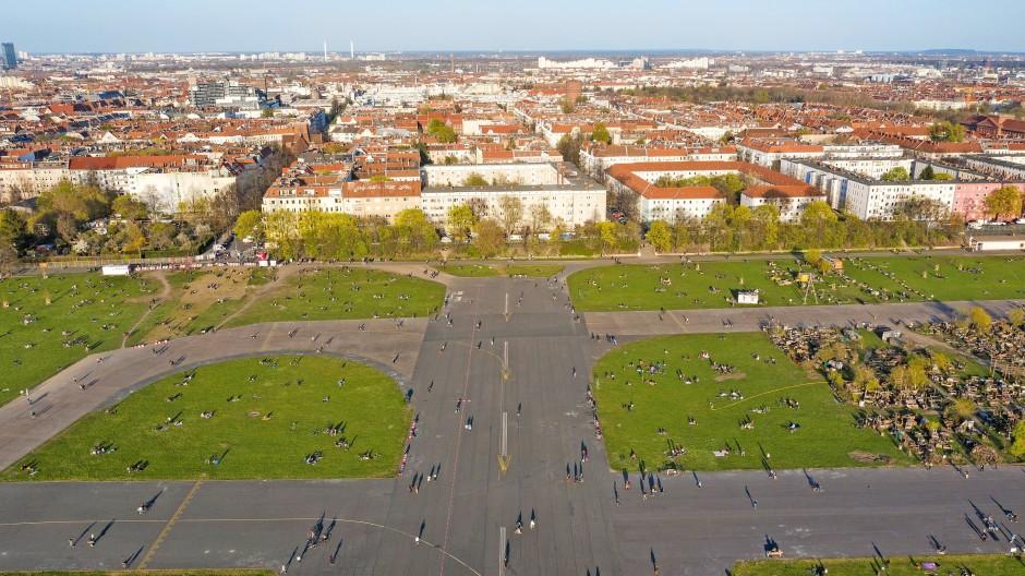 Hier könnte Ihre Wohnung stehen – doch die Berliner entschieden sich stattdessen für einen größeren Park auf dem Tempelhofer Feld.